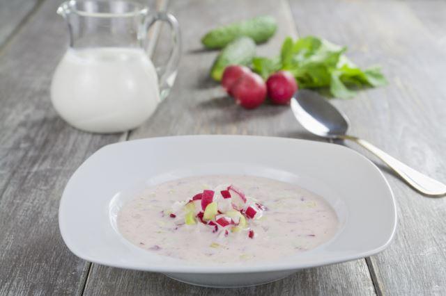 рецепт молочных супов с овощами