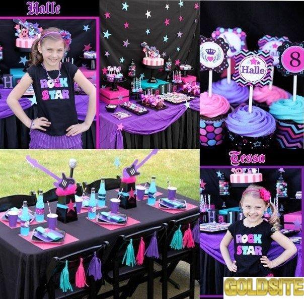 День рождения 10 лет.  Вечеринки для подростков