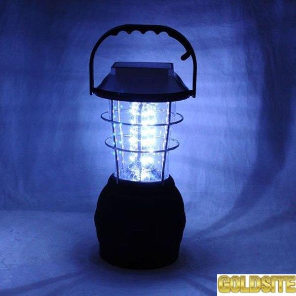 Фонарь светодиодный 36 LED на солнечной батарее