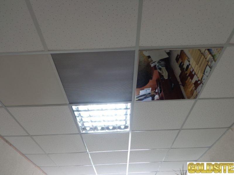 Плиты подвесного потолка для медицинских помещений.