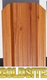 Штакетник металлический для забора под дерево(Золотой дуб,      ольха)     ,      под камень ширина