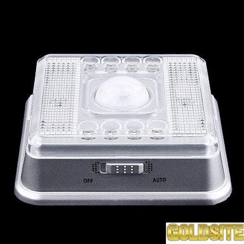 Светодиодный светильник с датчиком движения 8 LED