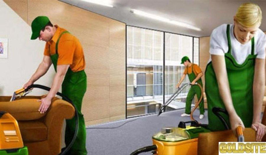 Рабочий в клининговую компанию США