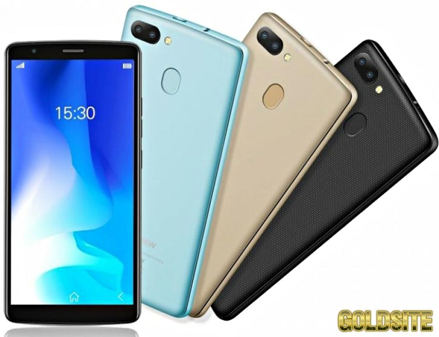 Оригинальный Смартфон Blackview A20 2 сим, 5, 5 дюй, 4 яд, 8 Гб, 5 Мп, 3000 мА/ч.
