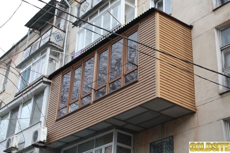 Расширение балкона,  ремонт балкона в Киеве