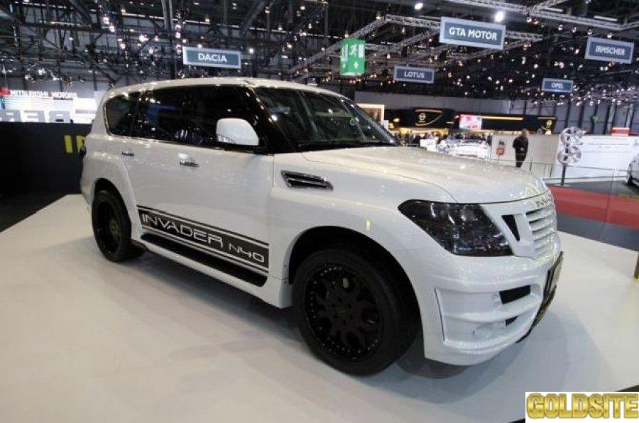 Обвес Invader N40 для Nissan Patrol с установкой в Киеве