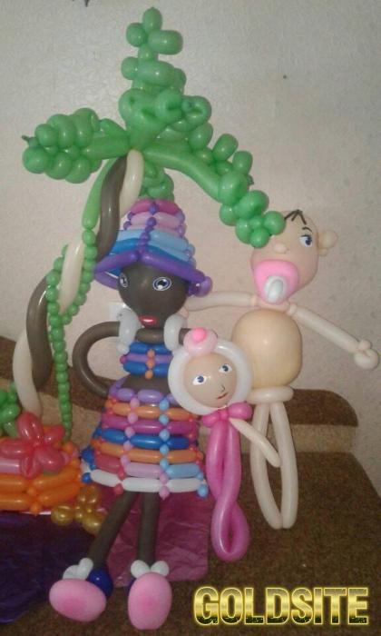 Фигуры из воздушных шаров для моделирования.