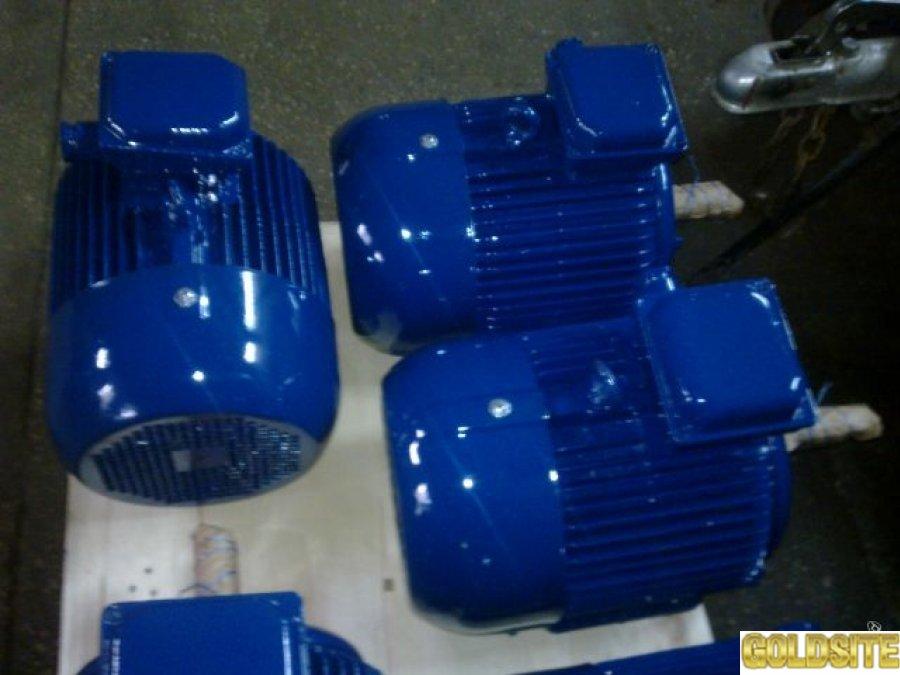 Электродвигатель 4АМ-132-S4.   7. 5 кВт.  1500 об.  м.