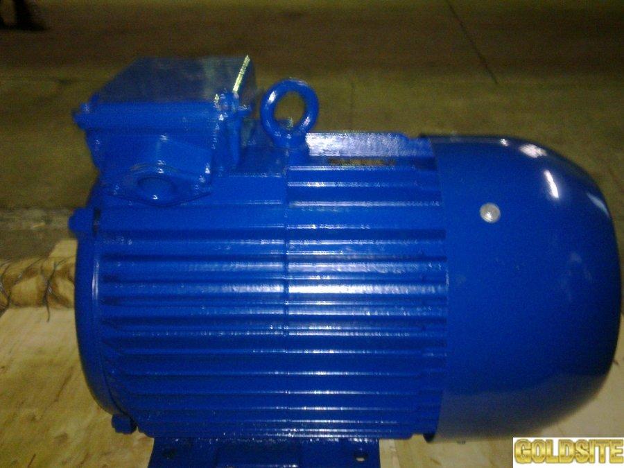 Электродвигатель АИРМ-160-S2.   15 кВт.  3000 об.  м.