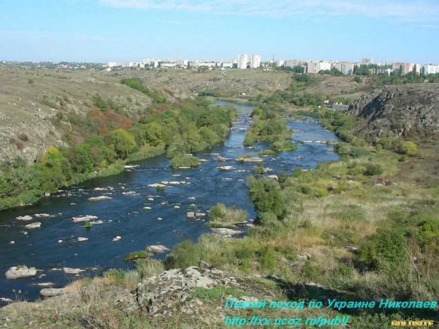 Отдых,  пеший поход туристический по Украине.