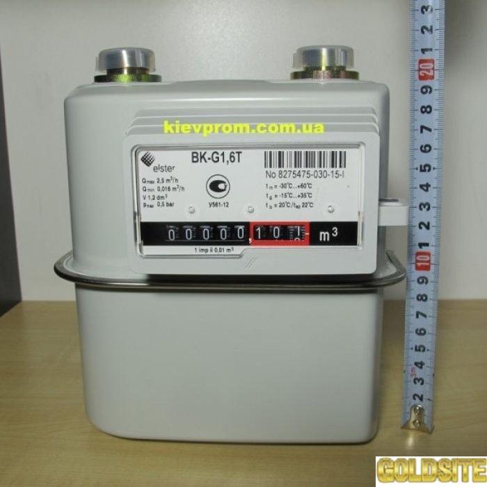 Газовый счетчик  Elster BK-G1. 6