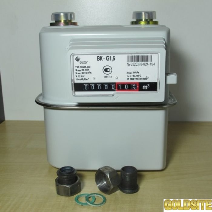 Газовый счетчик  Elster BK-G 1. 6 Т
