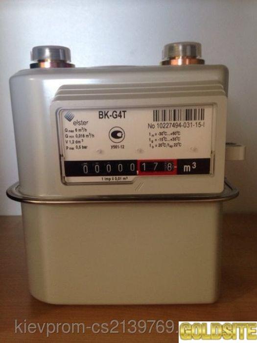 Газовый счетчик  Elster BK G 4 Т