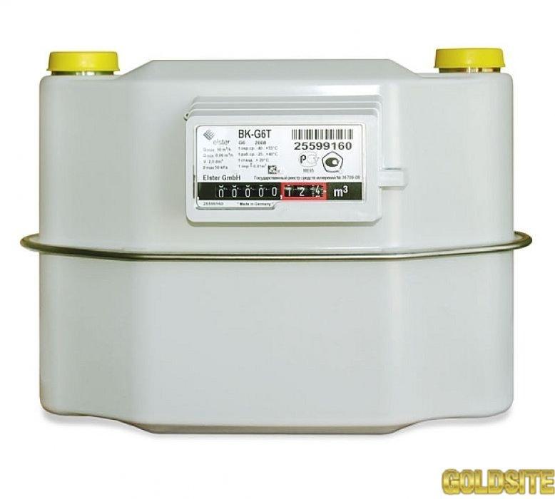 Газовый счетчик  Elster BK G 6  Т