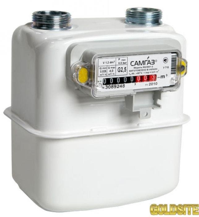 Счетчики газа Самгаз G 2. 5