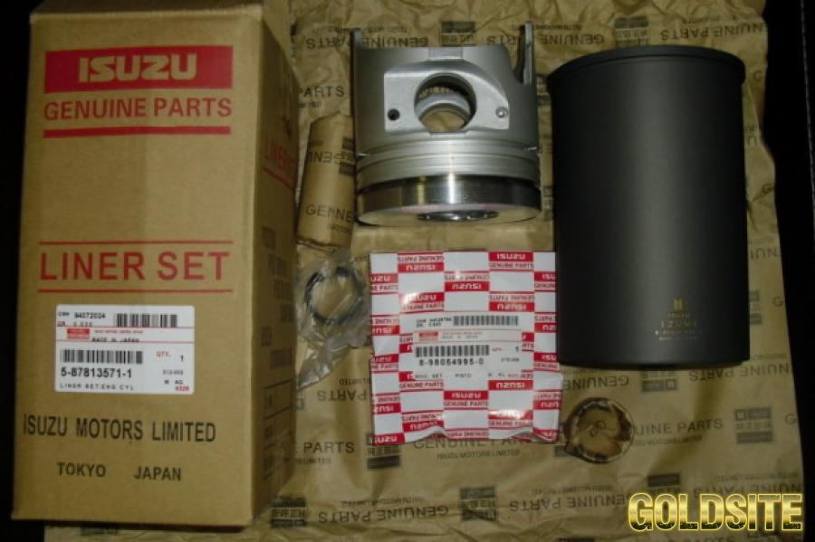 Гильзо-поршневой комплект на Isuzu 6hk1