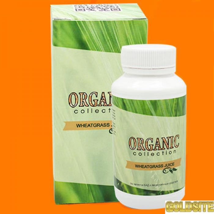 Купить Wheatgrass - витамины для волос от Organic Collection оптом от 50 шт