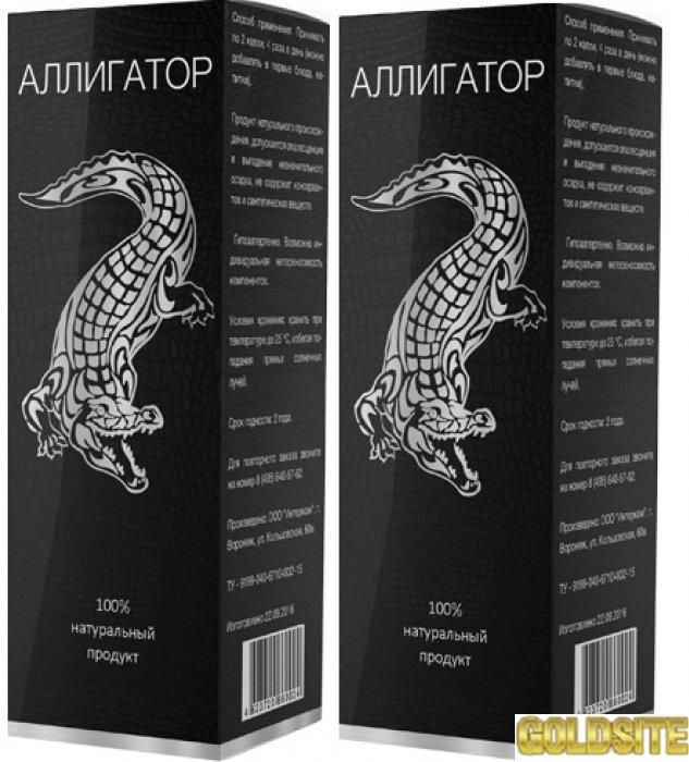 Купить Аллигатор - капли для потенции / эрекции оптом от 50 шт