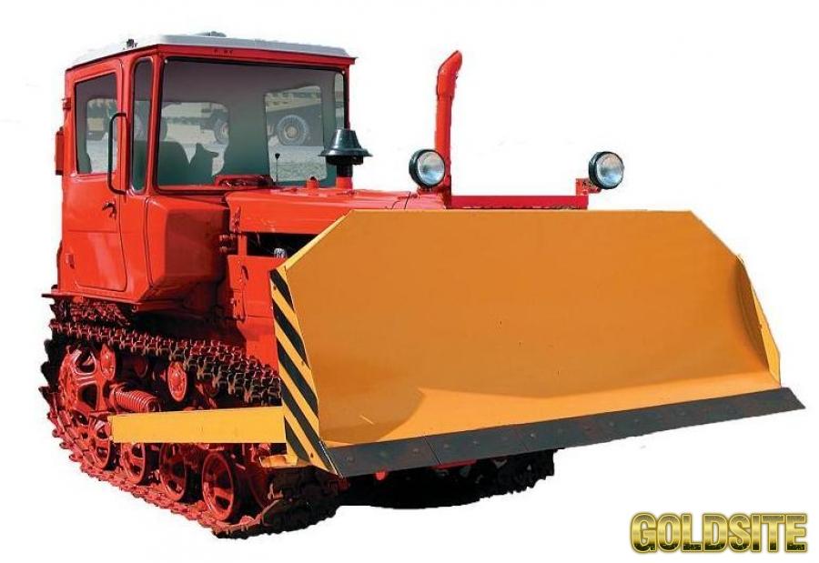 Goldsite Бульдозер ДТ-75