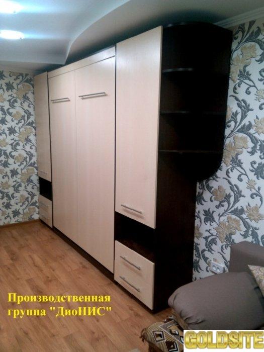 Шкафы- кровати на подъёмных механизмах.      Цены производителя.