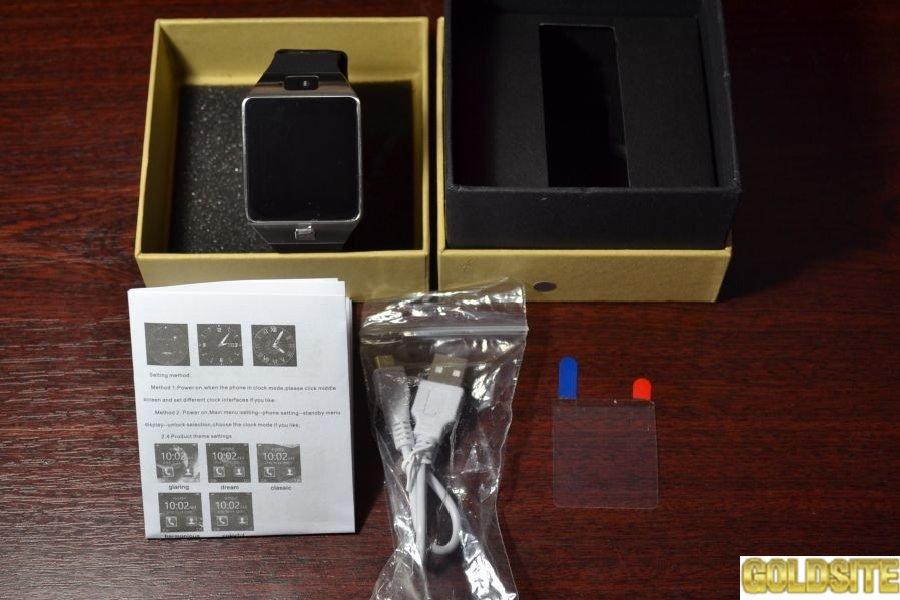 Наручные часы-телефон DZ09 Smart Watch .