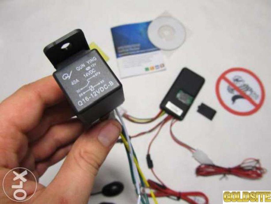 Автомобильный трекер сигнализация GT06 (автотрекер GPS GPRS SMS)