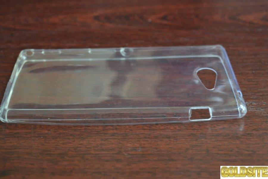TPU чехол-бампер для Sony Xperia M2.