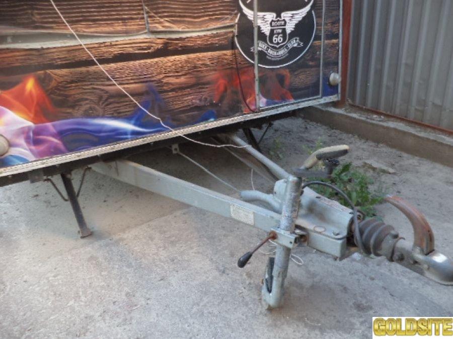 Трейлер - купава для уличной торговли  б у в рабочем состоянии