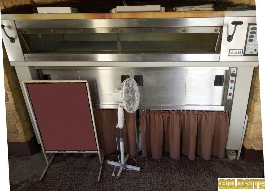 Печь для пекарни Mondial Forni 353 E1 210  б у в рабочем состоянии
