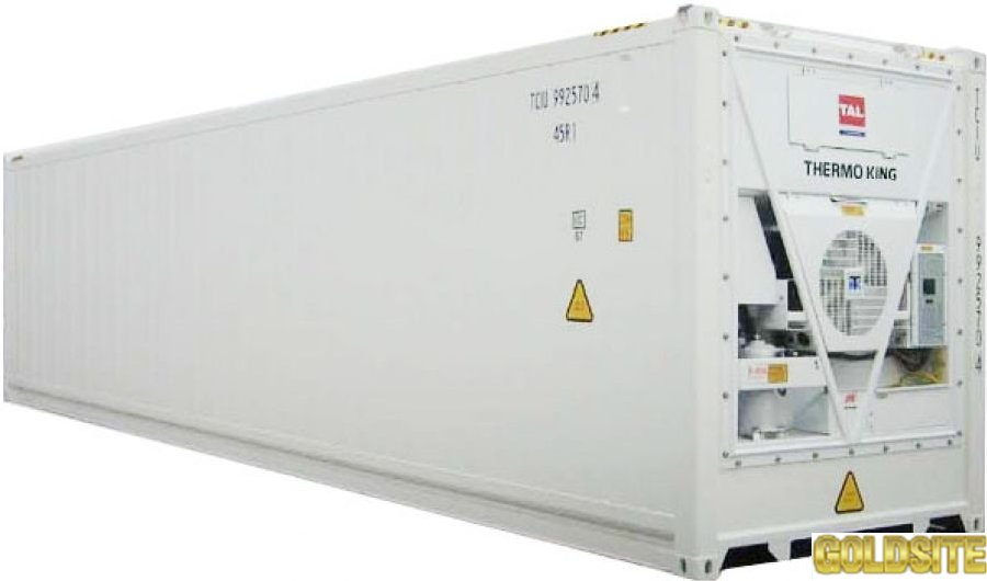 Goldsite Холодильне обладнання рефрижератор 40 фут.     1999 року випуску Данія