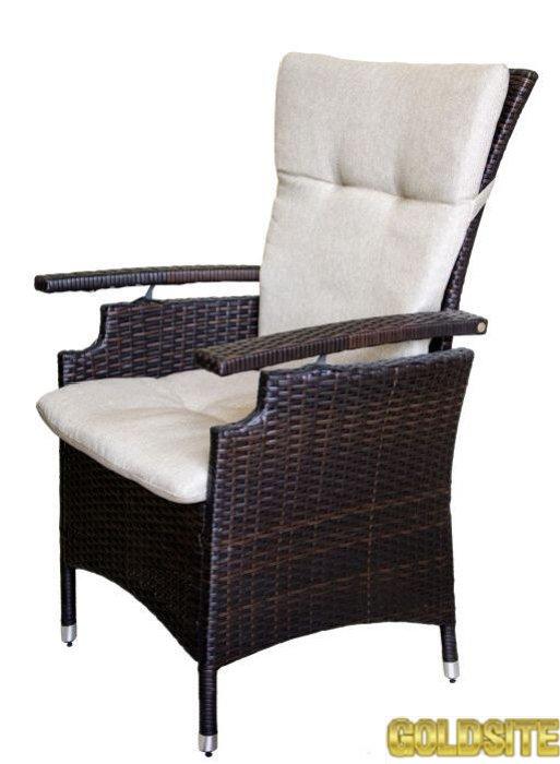 Кресло из искусственного ротанга.   Германия