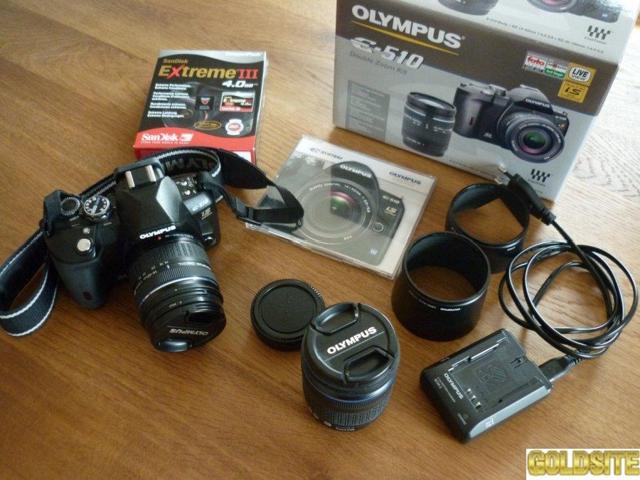 Фотоаппарат  цифровой Olympus E-510 kit