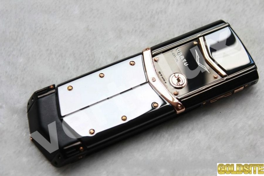 Vertu Signature S Design Red Gold Black Dlc,  Vertu,  Копии Vertu,  копии vertu Киев,  реплика Vertu