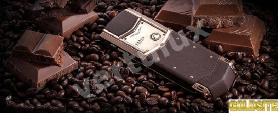 Vertu Signature S Design Chocolate Red Gold,  Vertu,  Копии Vertu,  копии vertu Киев,  реплика Vertu