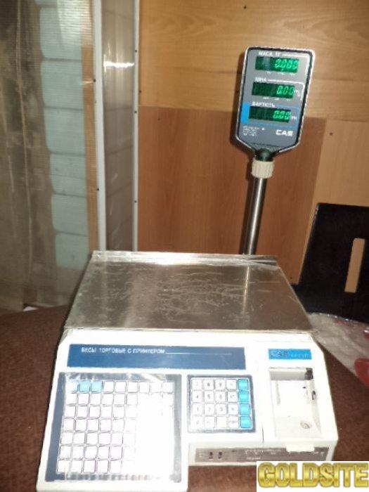 Весы( напольные,  настольные,  чекопечатающие)  торговые с принтером