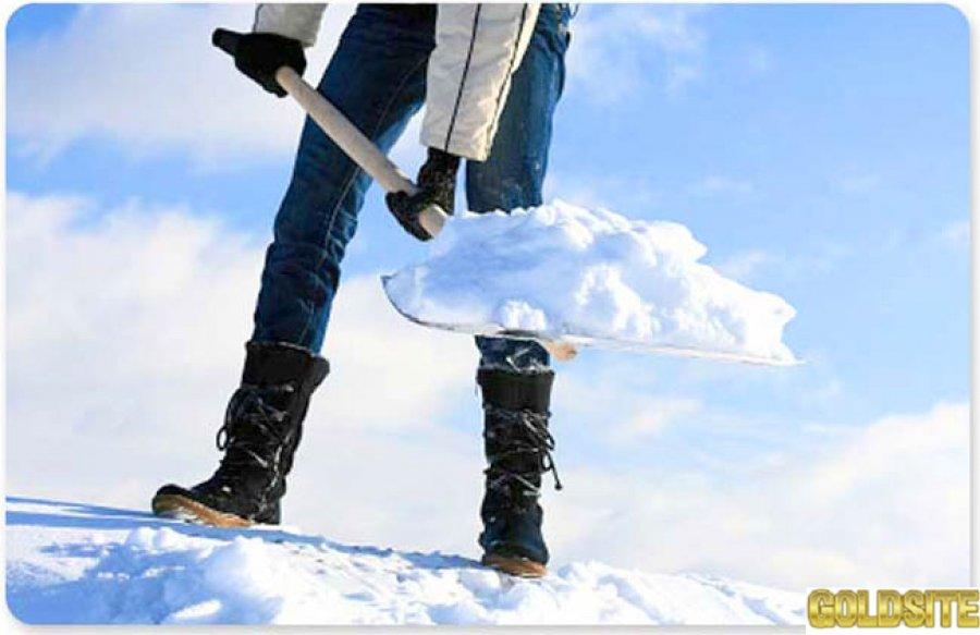 Уборка снега недорого