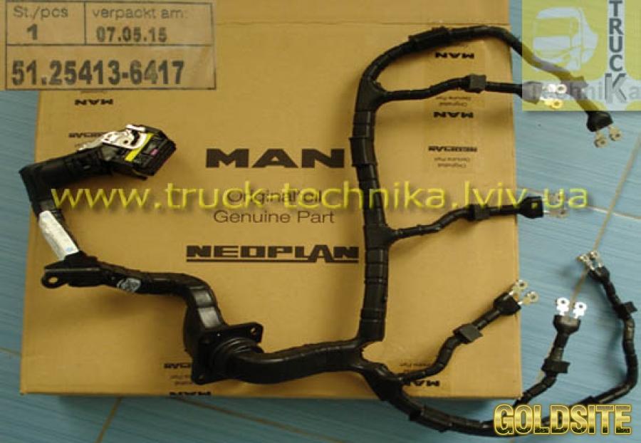 Кабель электрический форсунки MAN TGA 51254136417,  51254136256,  51254136090,