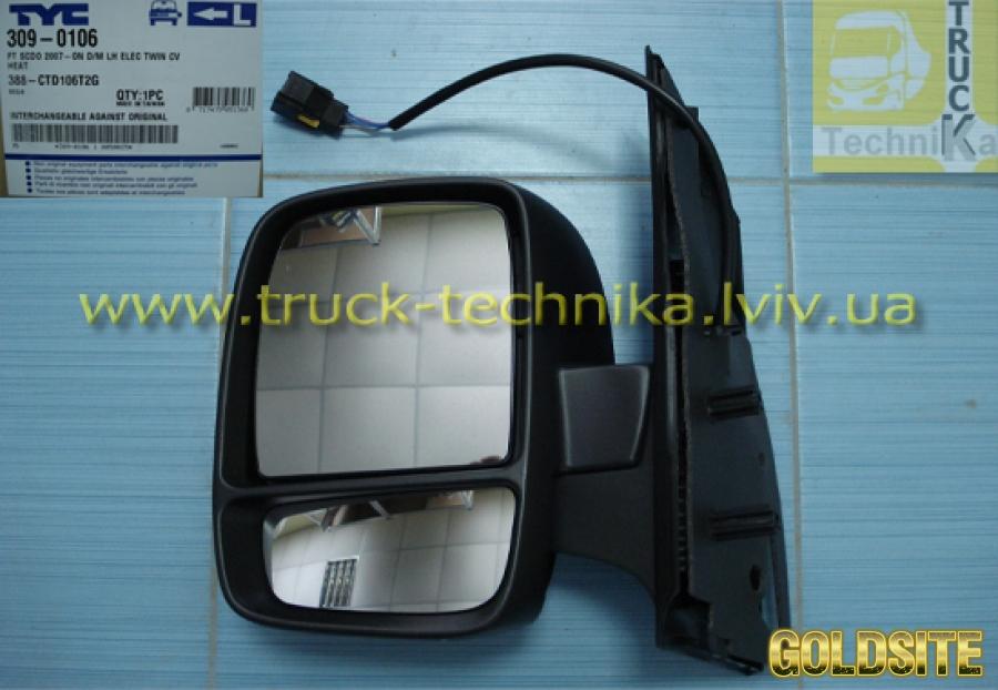Боковое зеркало Citroen Fiat Peugeot,  8153K9,  9467189088