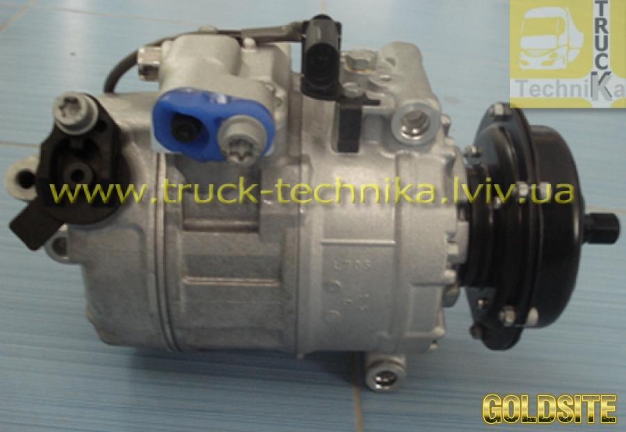 Компрессор кондиционера Volkswagen Multivan,  Phaeton,  Touareg,  Transporter,   3D0820805B,  3D0820