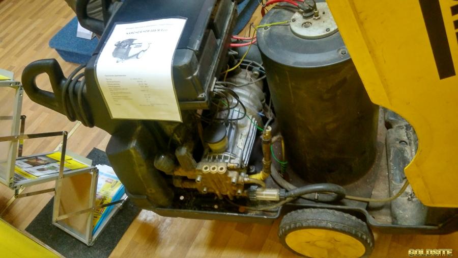 KARCHER HDS 695 M Eco б/у мойка  авд автомойка с подогревом