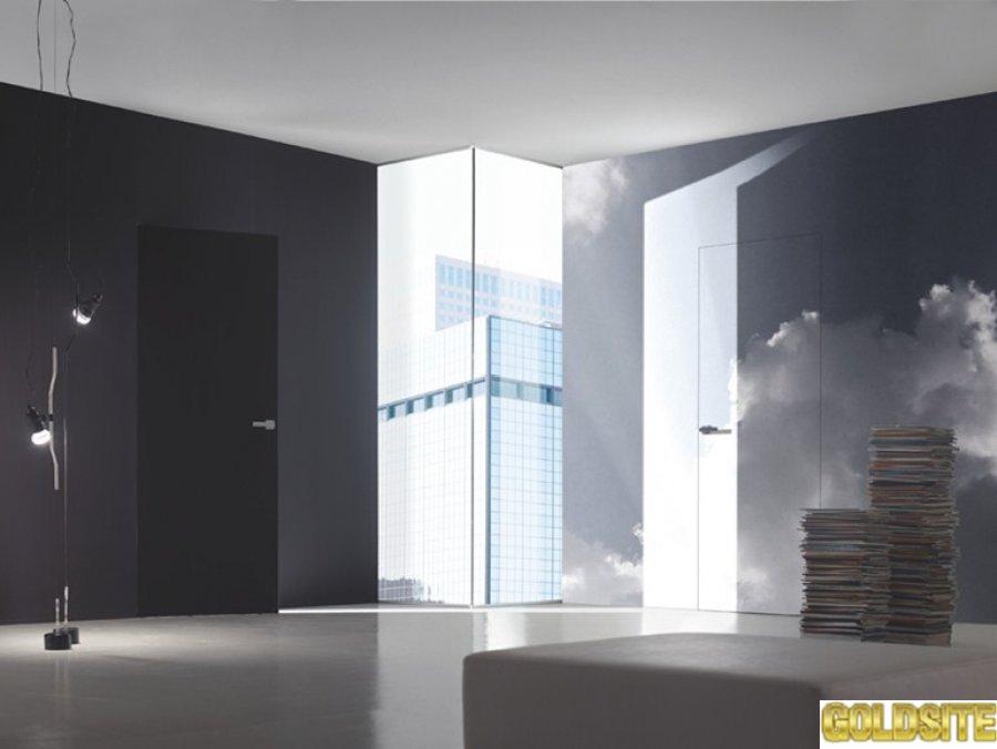 Итальянские двери скрытого монтажа под покраску