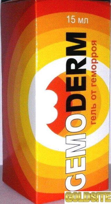 Купить GemoDerm - гель от геморроя (ГемоДерм)   оптом от 50 шт