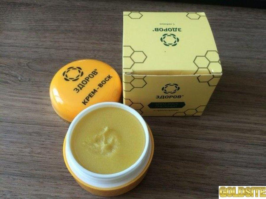 Купить Здоров - Крем-воск пчелиный от геморроя оптом от 50 шт