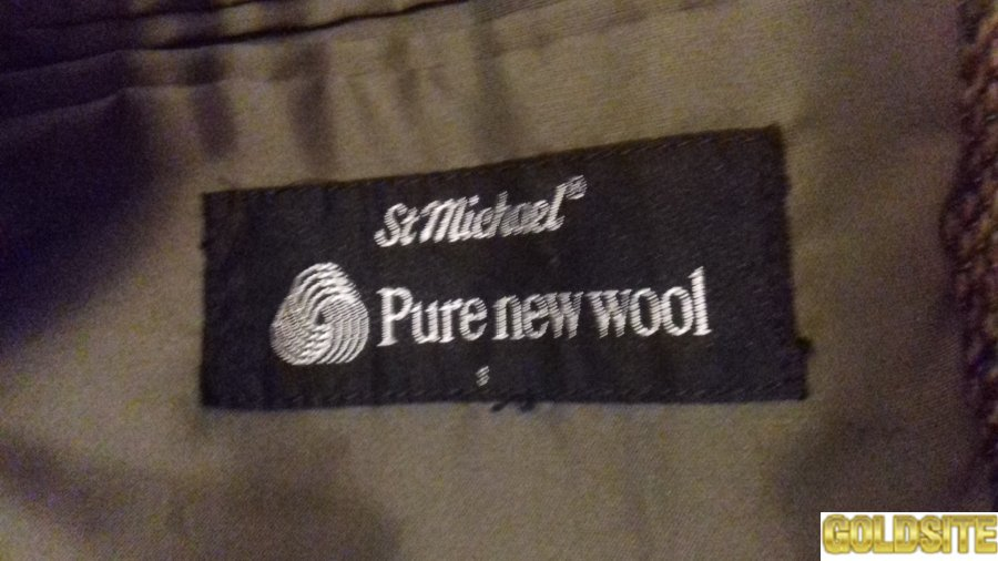 Піджак St.  Michael Pure new wool
