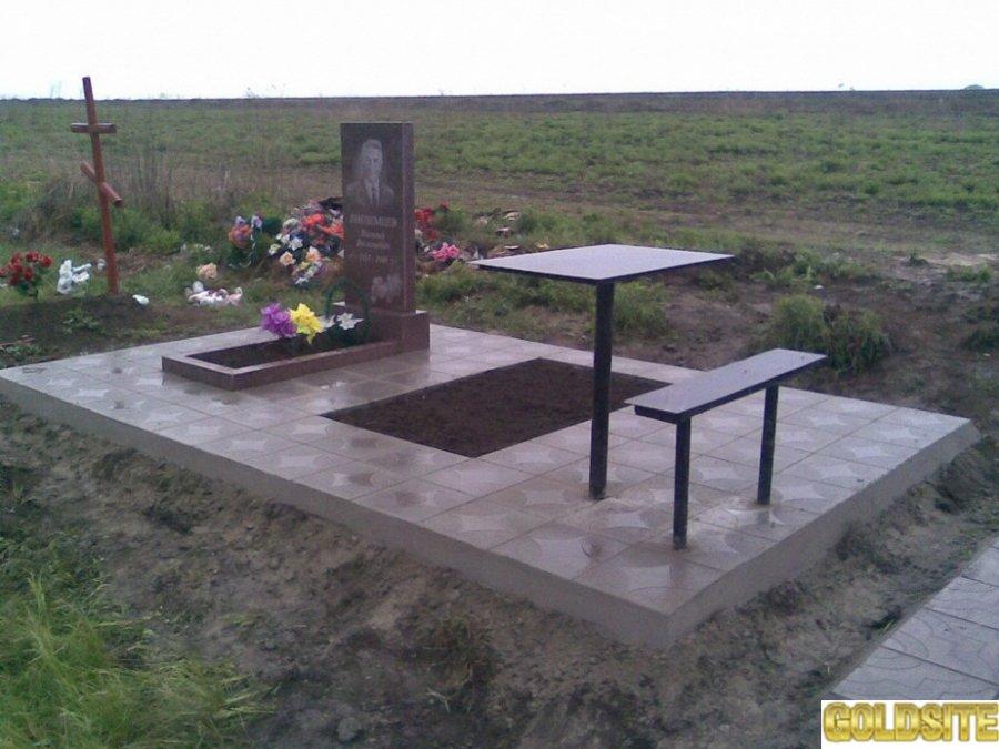 Услуги по изготовлению гранитных памятников и благоустройству захоронений