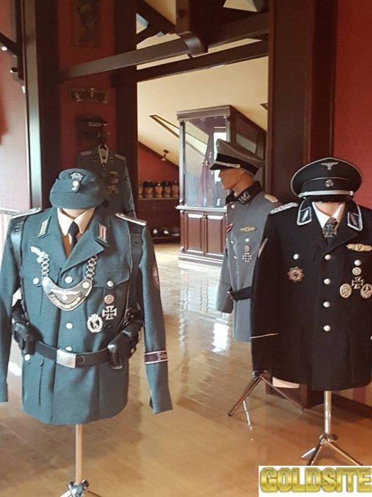 Кителя Вермахт, СС, ЛЮфтваффе, Кригсмарине для Реконструкций и Коллекционирования