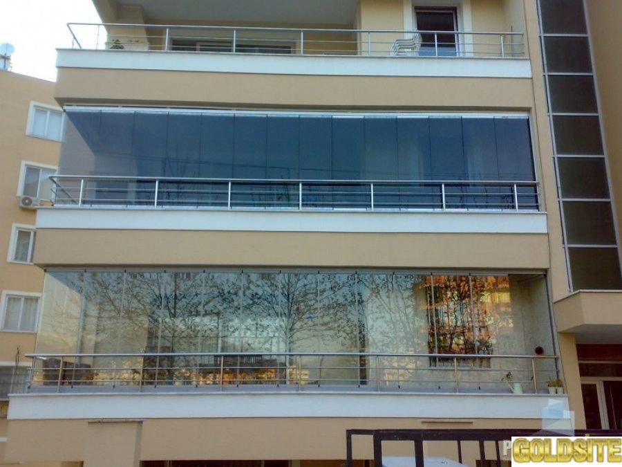 Раздвижное безрамное остекление PanoramGlass
