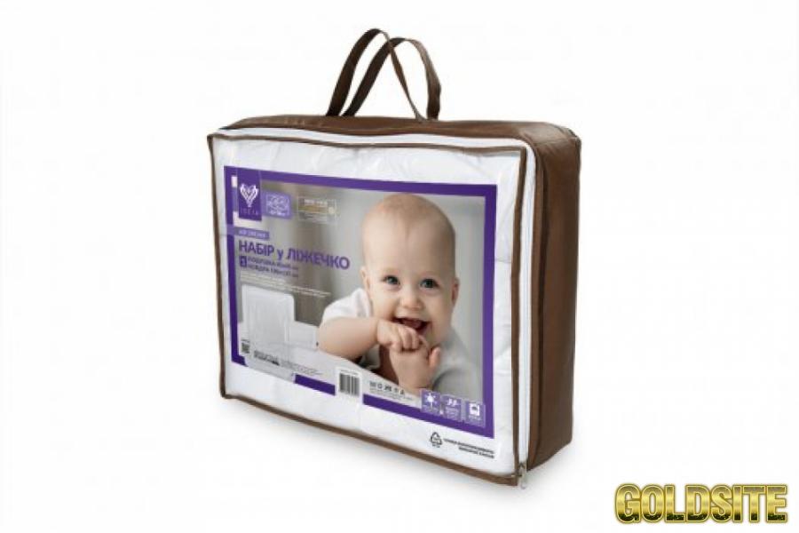 Goldsite Детский набор Мишка:    одеяло и подушка