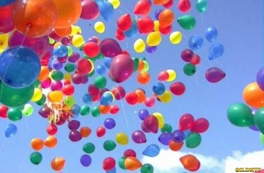 Воздушные шарики в Киеве,  шарики с гелием киев