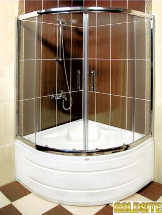 Гнутое стекло для душевой кабины,   моллирование стекла